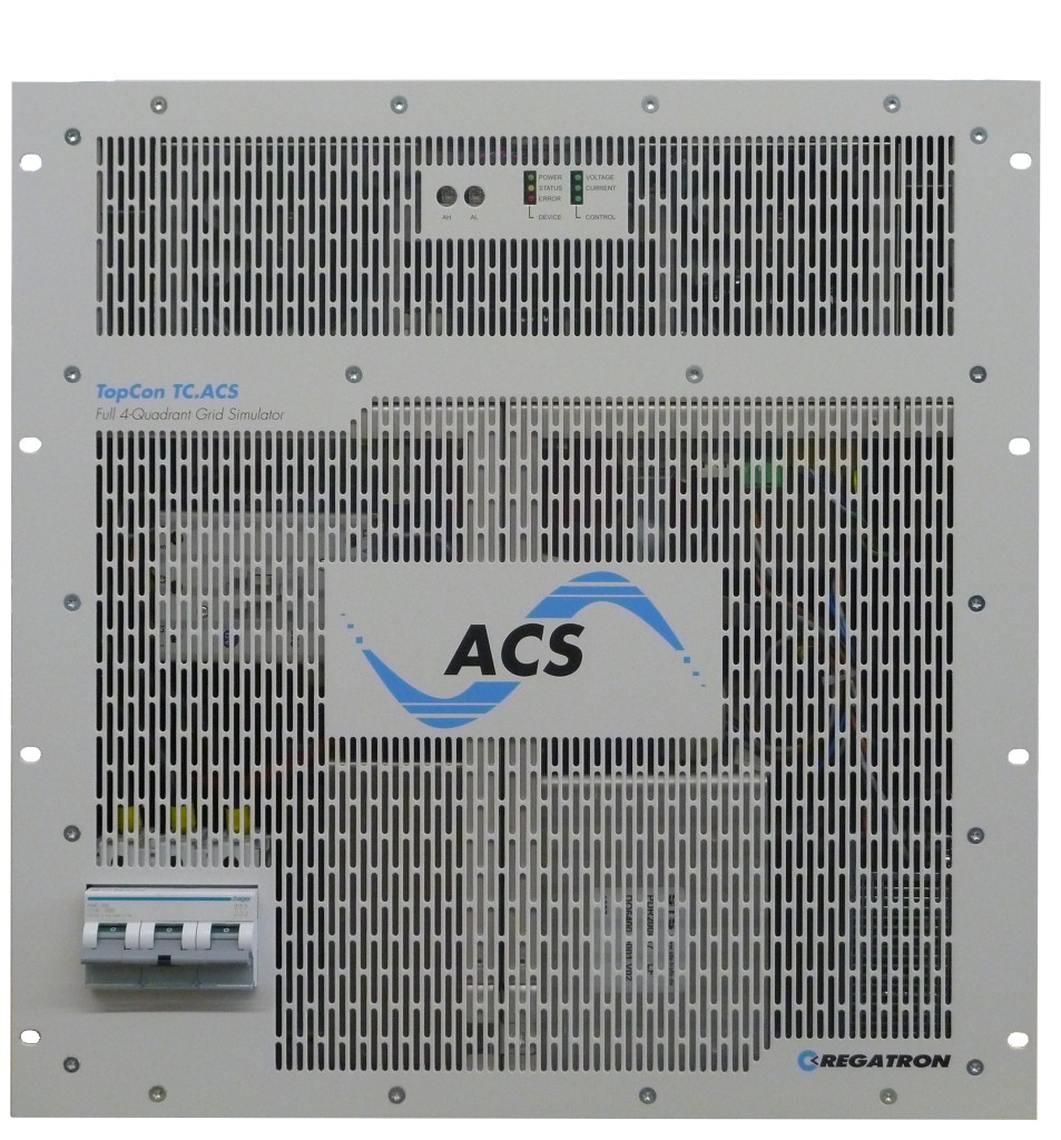 Tcacs Series Regatron Is There A Circuit Simulation Software With Actual Audio Input Output Programmable Grid Simulator 4 Quadrant Front