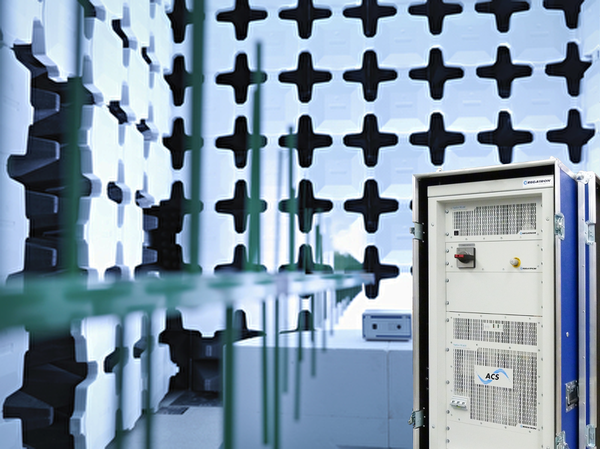 Easy testing according to EMC standards with REGATRON's technologically advanced and modular Grid Simulator TC.ACS
