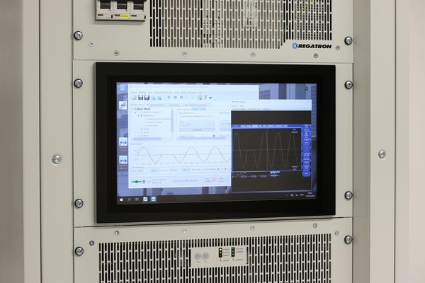 REGATRON Steps Ahead with a Multifunctional HMI for TC.ACS Grid Simulator Systems