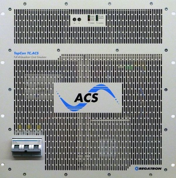 TC.ACS: REGATRON's programmable bidirectional AC power sources
