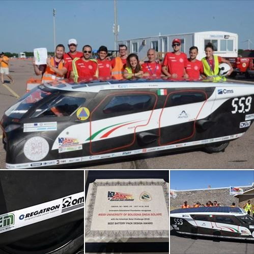 Emilia 4 solar car triumphed at the American Solar Challenge